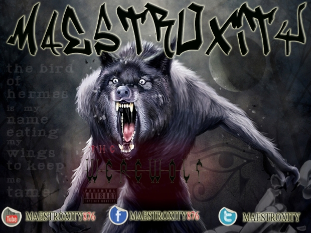 MAESTROXITY THE WEREWOLF MIXTAPE COVER