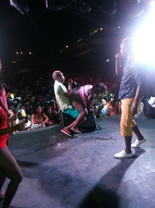 Rdx performing brand new song, Ride It for the very first time to overwhelming response - Courtesy of @sparkiebaby