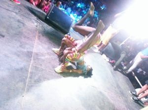 Trini ladies really know how to get on wild - Courtesy of @sparkiebaby